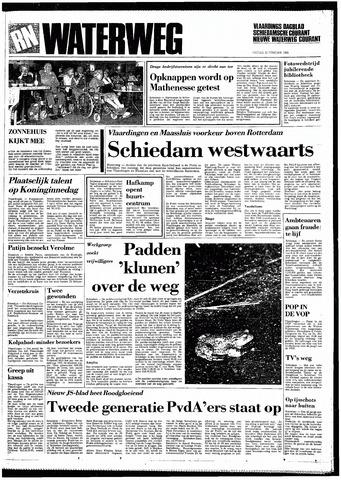 Rotterdamsch Nieuwsblad / Schiedamsche Courant / Rotterdams Dagblad / Waterweg / Algemeen Dagblad 1985-02-22