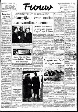 Trouw / De Rotterdammer 1957-03-09
