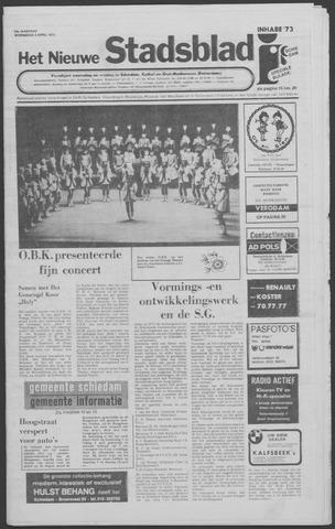 Het Nieuwe Stadsblad 1973-04-04