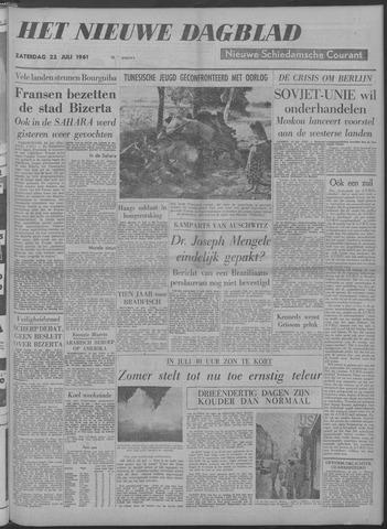Nieuwe Schiedamsche Courant 1961-07-22