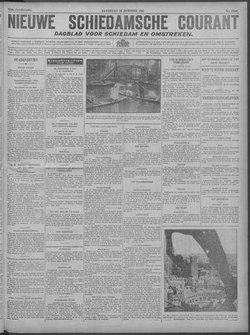 Nieuwe Schiedamsche Courant 1929-10-19
