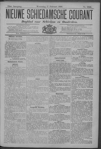Nieuwe Schiedamsche Courant 1909-02-17