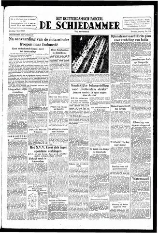 Rotterdamsch Parool / De Schiedammer 1947-06-03