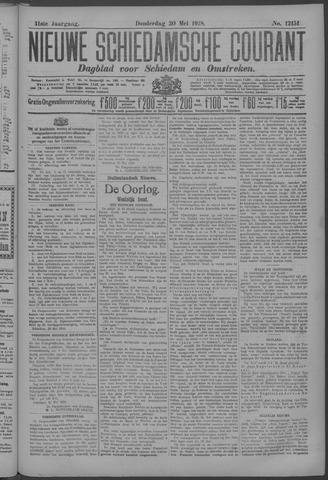 Nieuwe Schiedamsche Courant 1918-05-30