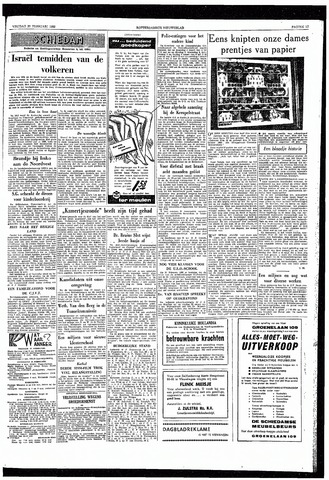 Rotterdamsch Nieuwsblad / Schiedamsche Courant / Rotterdams Dagblad / Waterweg / Algemeen Dagblad 1959-02-27