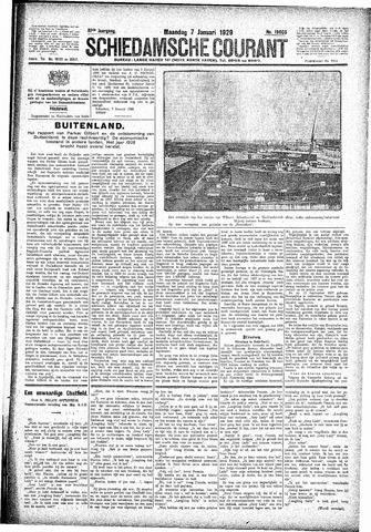 Schiedamsche Courant 1929-01-07