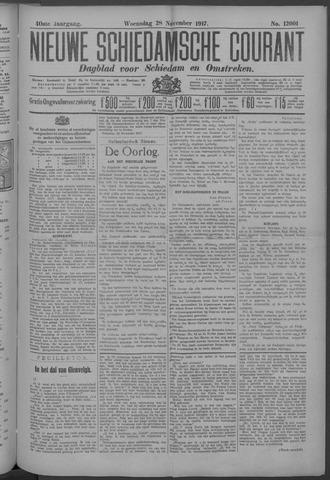 Nieuwe Schiedamsche Courant 1917-11-28