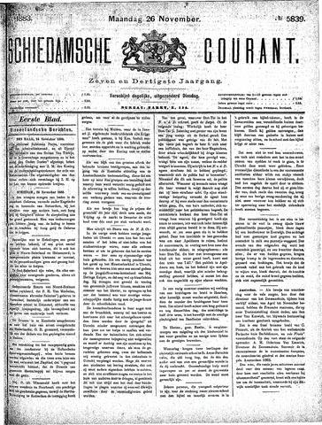 Schiedamsche Courant 1883-11-26