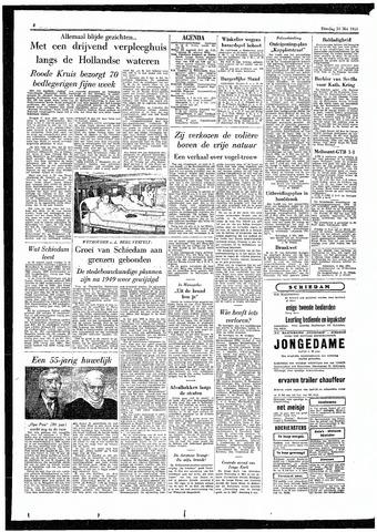 Rotterdamsch Parool / De Schiedammer 1955-05-10