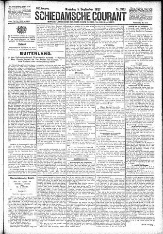 Schiedamsche Courant 1927-09-05
