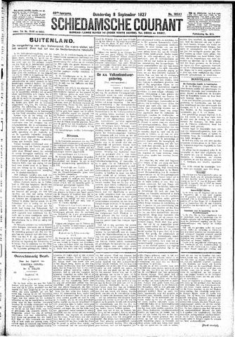 Schiedamsche Courant 1927-09-08