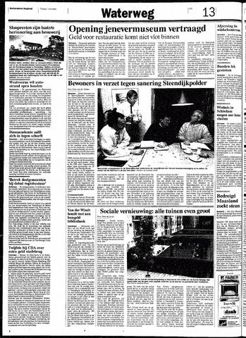 Rotterdamsch Nieuwsblad / Schiedamsche Courant / Rotterdams Dagblad / Waterweg / Algemeen Dagblad 1991-11-01