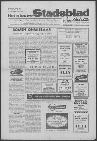Het Nieuwe Stadsblad 1961-04-26
