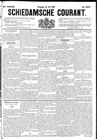 Schiedamsche Courant 1912-07-23