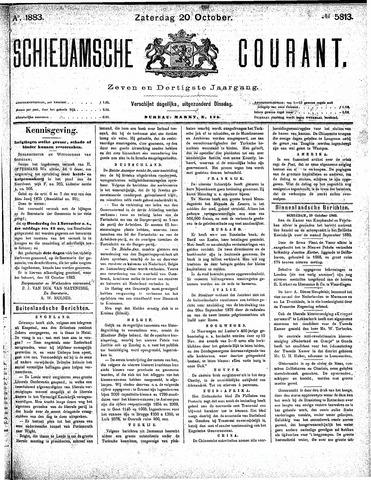 Schiedamsche Courant 1883-10-20