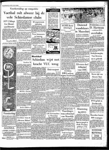 Rotterdamsch Parool / De Schiedammer 1963-08-26