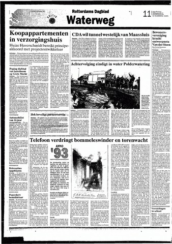 Rotterdamsch Nieuwsblad / Schiedamsche Courant / Rotterdams Dagblad / Waterweg / Algemeen Dagblad 1993-12-28