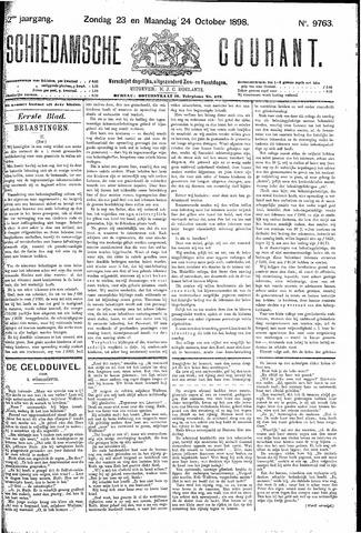Schiedamsche Courant 1898-10-24