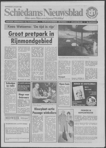 Schiedams Nieuwsblad 1984