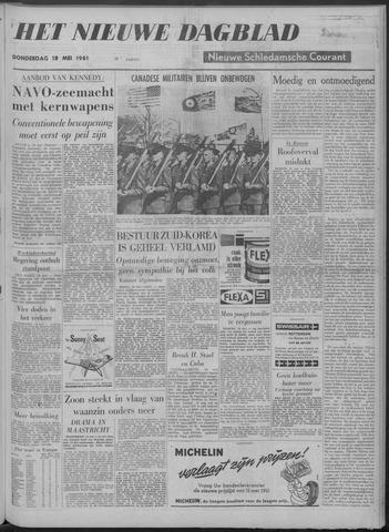 Nieuwe Schiedamsche Courant 1961-05-18