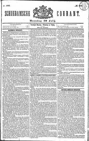 Schiedamsche Courant 1866-07-30