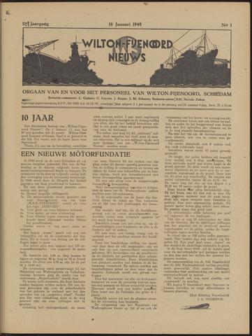 Wilton Fijenoord Nieuws 1948