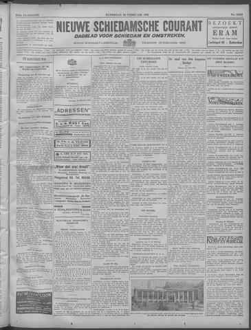 Nieuwe Schiedamsche Courant 1932-02-20
