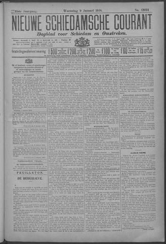 Nieuwe Schiedamsche Courant 1918-01-09