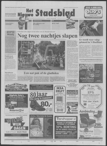 Het Nieuwe Stadsblad 2005-09-21