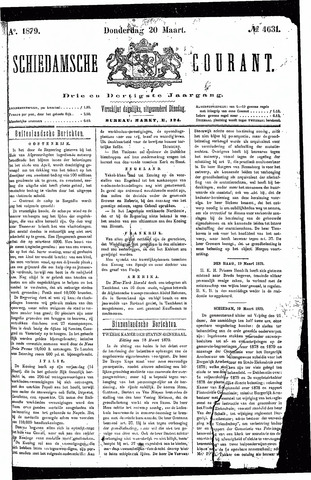 Schiedamsche Courant 1879-03-20