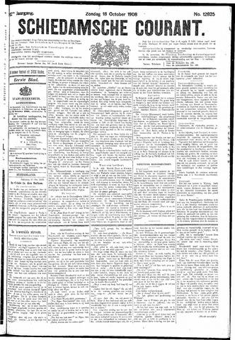 Schiedamsche Courant 1908-10-18