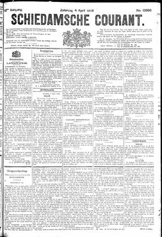 Schiedamsche Courant 1908-04-04