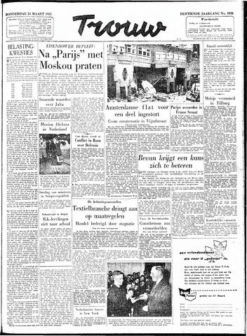 Trouw / De Rotterdammer 1955-03-24