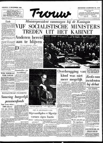 Trouw / De Rotterdammer 1958-12-12