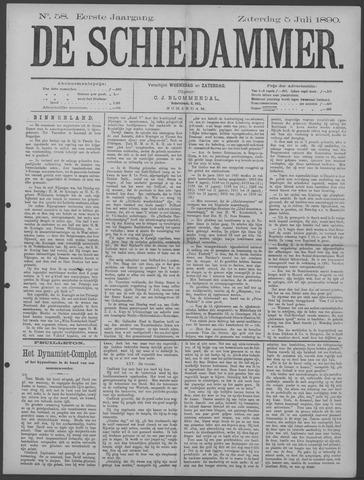 De Schiedammer 1890-07-05