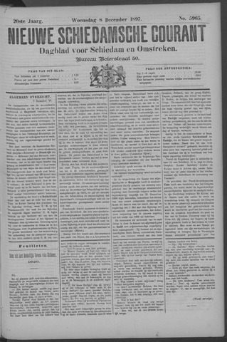 Nieuwe Schiedamsche Courant 1897-12-08