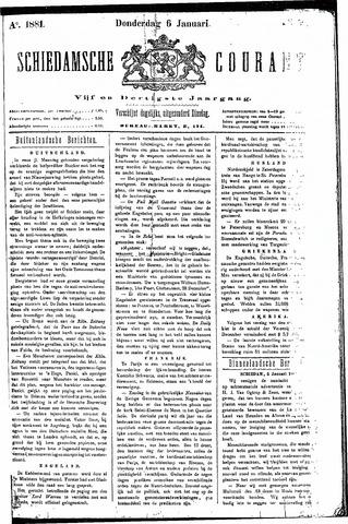 Schiedamsche Courant 1881-01-06
