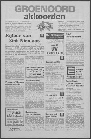 Groenoord Akkoorden 1972-11-22
