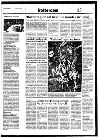 Rotterdamsch Nieuwsblad / Schiedamsche Courant / Rotterdams Dagblad / Waterweg / Algemeen Dagblad 1993-01-09