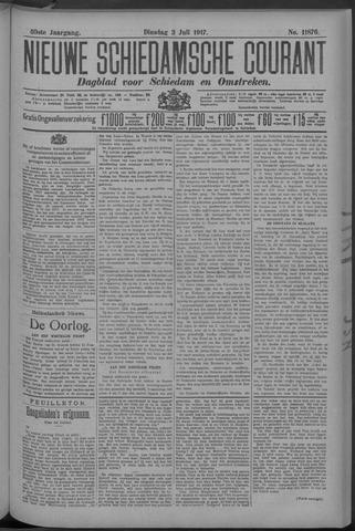 Nieuwe Schiedamsche Courant 1917-07-03
