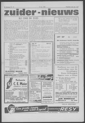 Zuider Nieuws 1963-12-19