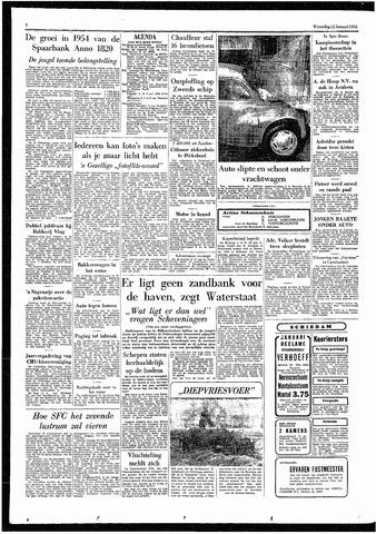 Rotterdamsch Parool / De Schiedammer 1955-01-12