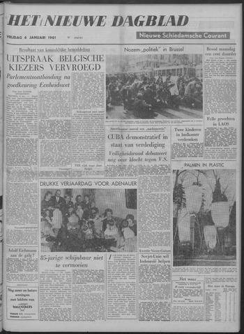 Nieuwe Schiedamsche Courant 1961-01-06