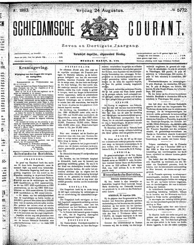 Schiedamsche Courant 1883-08-24