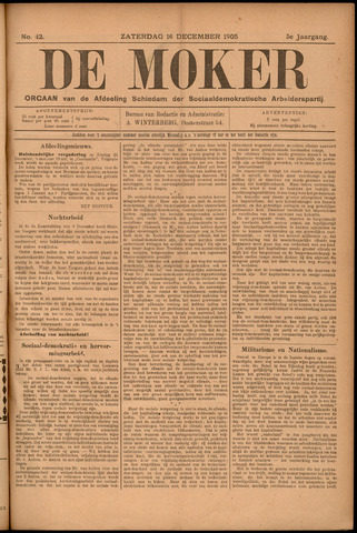 De Moker 1905-12-16