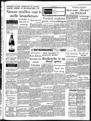 Rotterdamsch Parool / De Schiedammer 1964-09-24