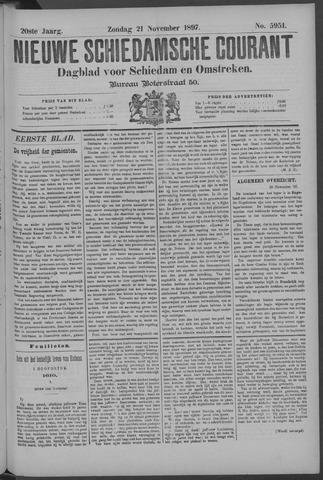 Nieuwe Schiedamsche Courant 1897-11-21