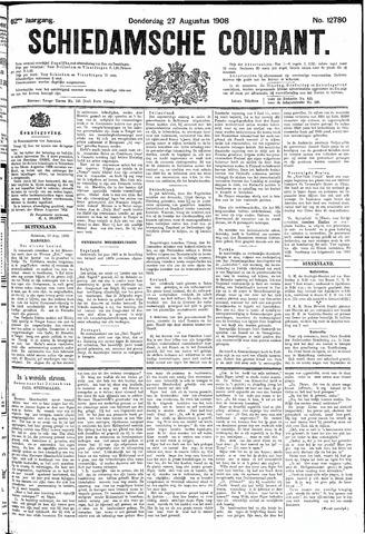 Schiedamsche Courant 1908-08-27