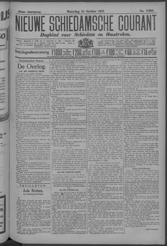 Nieuwe Schiedamsche Courant 1917-10-15