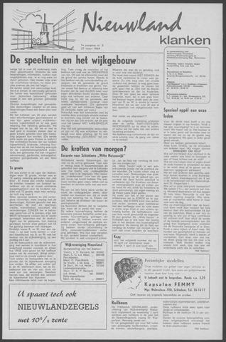 Nieuwland Klanken 1969-03-27